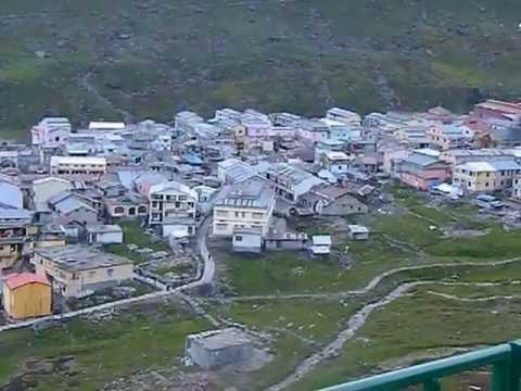 Picture of kedarnath temple