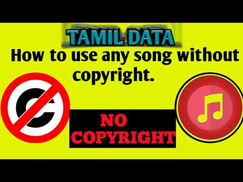 How to use any song without copyright || TAMIL DATA