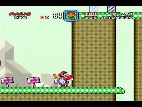 Super Mario World: Chocolate Island 3 (Secret Exit)
