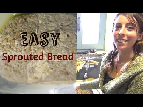 Making Gluten Free Sprouted Oat Bread