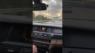 Araba SnapBmw 525GündüzHızTampon Yapma