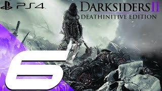 Darksiders II Deathinitive Edition PS4 - Walkthrough Part 6 - The Lost Temple [1080p 60fps](Darksiders 2 Deathinitive Edition Walkthrough in 1080P 60FPS on PS4 Darksiders II Deathinitive Edition Deathinitive Difficulty Mode Walkthrough Darksiders 2 ..., 2015-10-27T23:54:54.000Z)