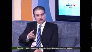 Suez Canal Mega Project Updates on Nile TV International on Mon 8 Dec 2014