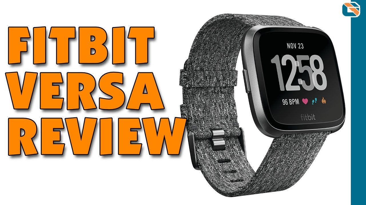 fitbit versa smartwatch special edition with heart rate monitor