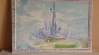 Картина Маслом Город Будущего