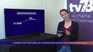 Yvelines | Comment sont découpés les cantons pour les élections départementales ?