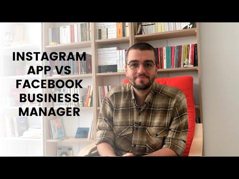 Instagram App'ten Reklam Vermek vs Business Manager'dan Reklam Vermek