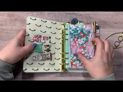 Glam Girl Ring Bound Travelers Notebooks