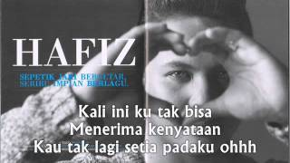 Patah Hati - Hafiz AF7 (Lyric)