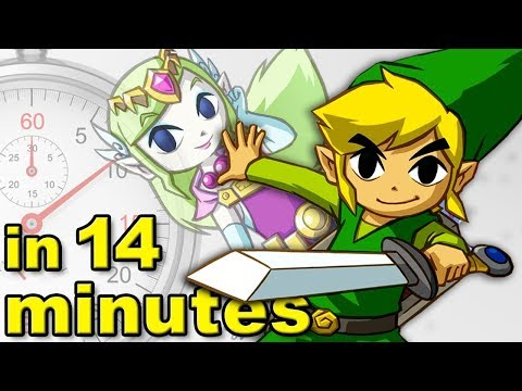 The History Of The Legend Of Zelda ft PeanutButterGamer  A Brief History