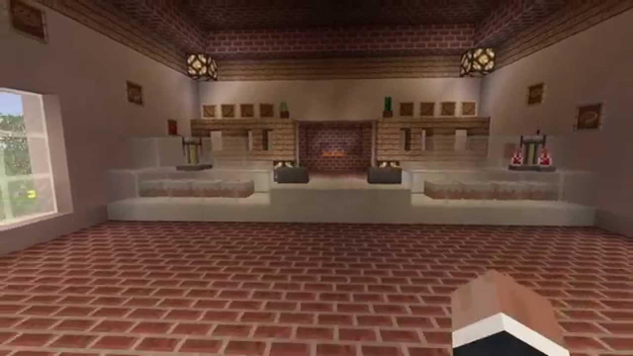 Minecraft boulangerie déco - YouTube