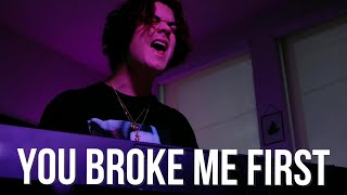 Tate McRae - You broke me first (Cover by Alexander Stewart)