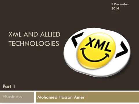 XML 1 1