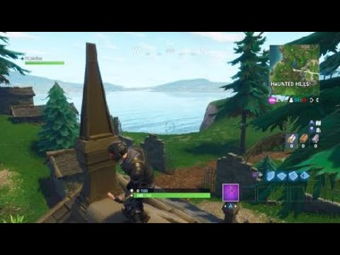 Follow The Treasure Map Found In Snobby Shores Weekly Challenges Season 5 FORTNITE