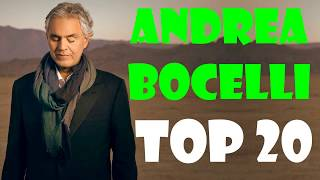Andrea Bocelli Greatest Hits 2017 | Best Songs Of Andrea Bocelli Cover | Andrea Bocelli Full Album