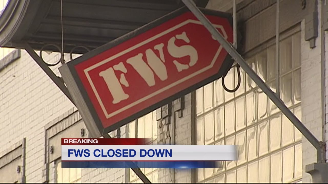 FWS Furniture Closes Without Warning