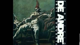 Fabrizio De André - Se ti tagliassero a pezzetti (Concerti 1991)