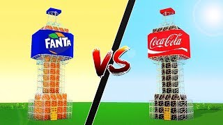 COCA COLA EV VS FANTA EV (Minecraft)