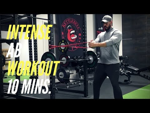 10 Minute Abs & Core Workout (VERY INTENSE)   MIND PUMP