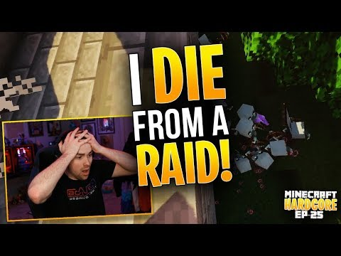 hardcore-minecraft!-i-die-from-a-raid!-ep.-25