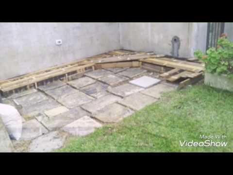 Costruzione piano cottura in muratura - YouTube
