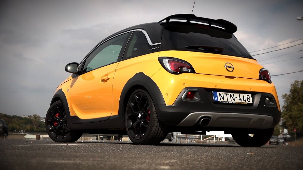 opel adam rocks s 2016 youtube. Black Bedroom Furniture Sets. Home Design Ideas