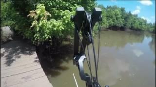 texas gar bowfishing