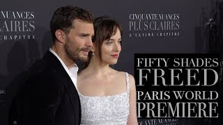 'Fifty Shades Freed' Paris World Premiere