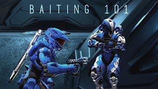 Halo 5 - Baiting 101 in Doubles