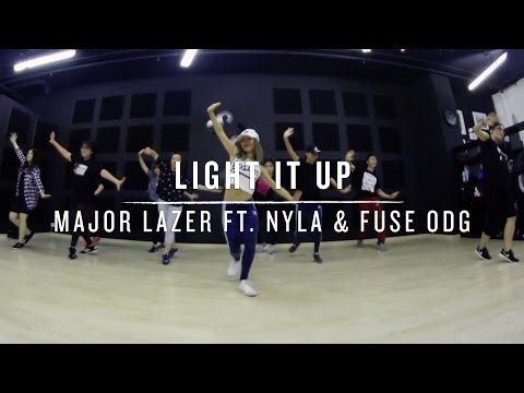 Light It Up Major Lazer ft Nyla & Fuse ODG  Step Choreography