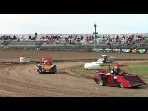 Mini Wedge heat 7 22 18 merritt speedway