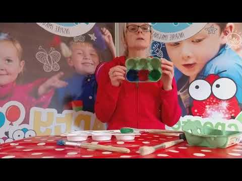 Showing children how to sort, with this fun 2 minute video. A really good fine motor skill.