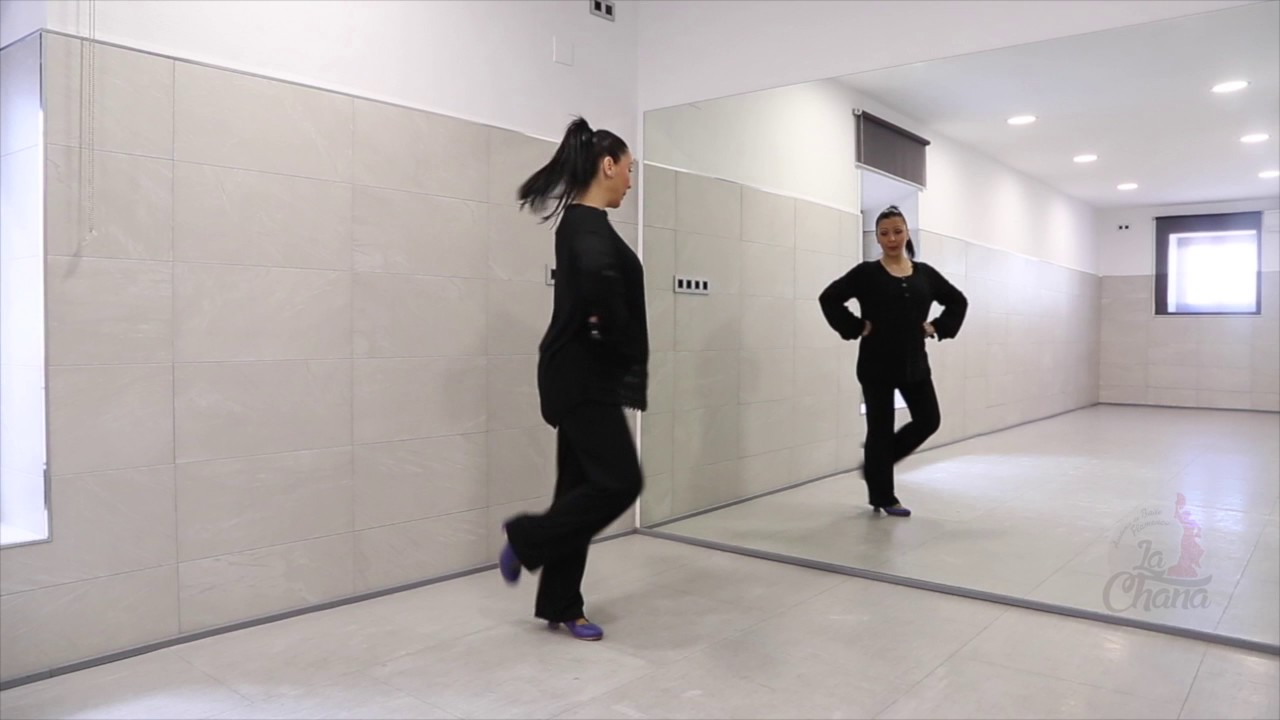 Video 4. Tutorial aprender a bailar sevillanas.4ª SEVILLANA. Curso ...