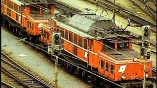 bb 1020 1161 4020 4030 in innsbruck hbf 1981 old austrian trains