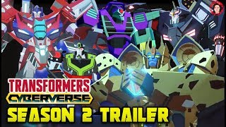 Transformers Cyberverse Season 2 Trailer Breakdown - Cheetor, Female Lugnut? & Spark Armour