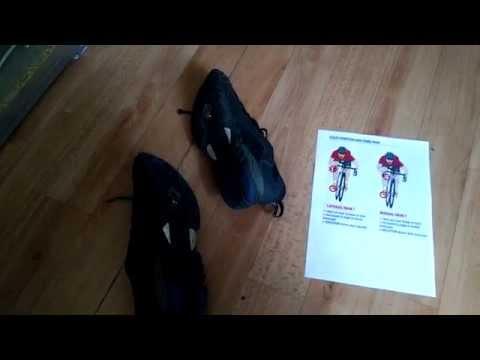 Как правильно установить шипы на контактную обувь