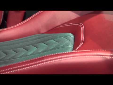 Maserati Ermenegildo Zegna Interiors at the Frankfurt Motor Show - IAA 2015