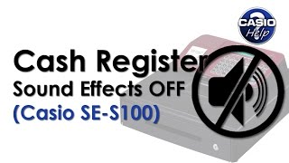 SE S100 Cash Register: How To Turn Off The Sound Effects