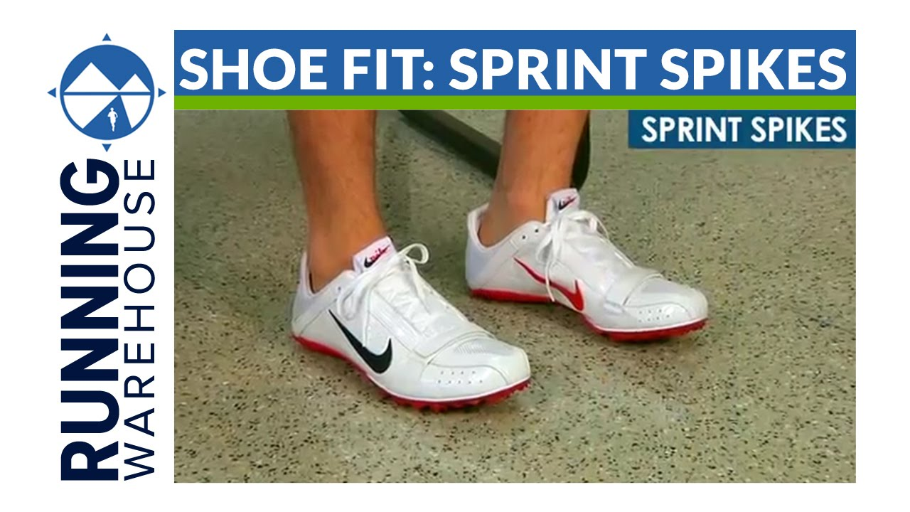 Competition Shoe Fit: Sprint Spikes