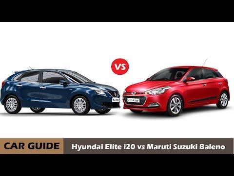 Maruti suzuki BALENO vs Hyundai ELITE i20, Full comparison and Reviews, |car guide|