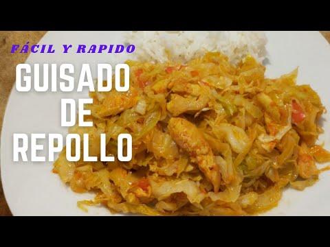 Download Repollo Guisado /Col Guisado con pollo 😋 Rico y Saludable /Receta Fácil y Rápida