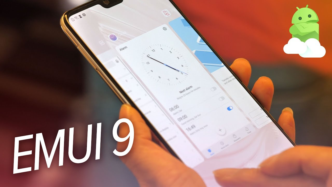 EMUI 9 Beta Impressions from IFA 2018 [Huawei P20 Android 9 Pie update]