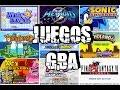 los mejores juegos para gba (link de des