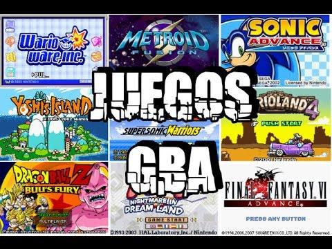 Los Mejores Juegos Para Gba Link De Descargas 2015 Youtube