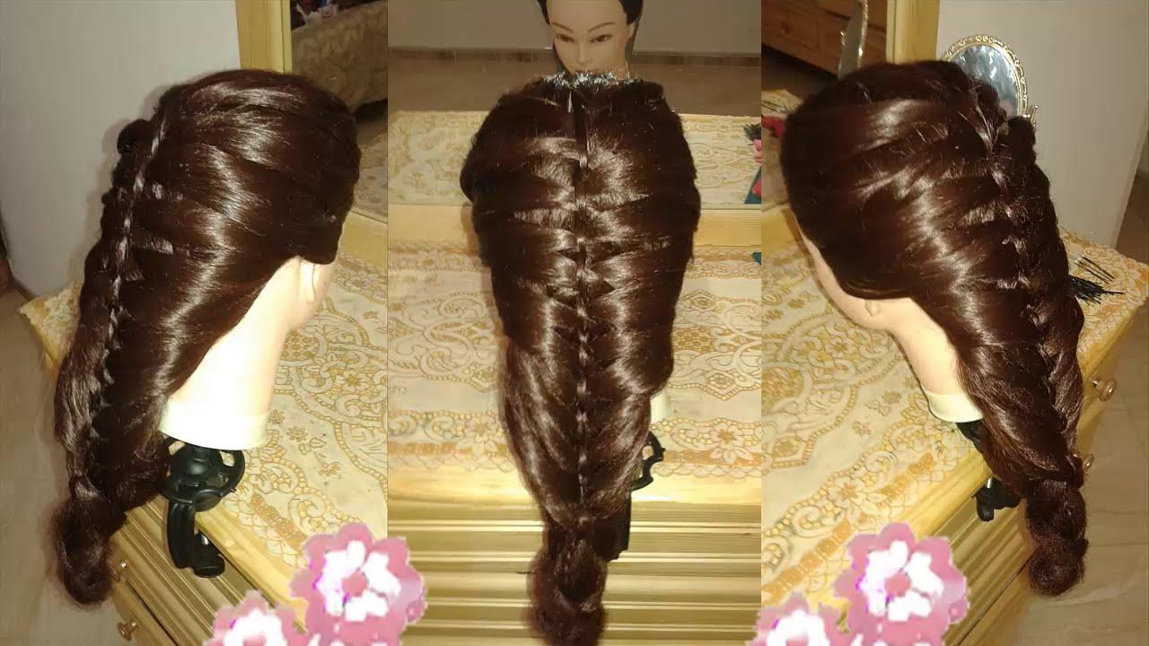 peinados muy bonitos y faciles para cabello largo con trenzas para niña de moda 2015