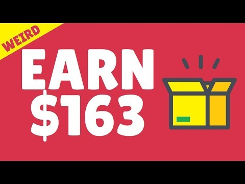 EARN $163 IN MINUTES with this ONE WEIRD ITEM😈Automated Make Money Online Method😈😈😈