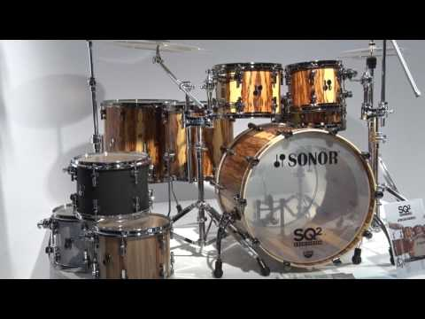 Musikmesse 2017 SONOR Drums SQ2 Series News (english)