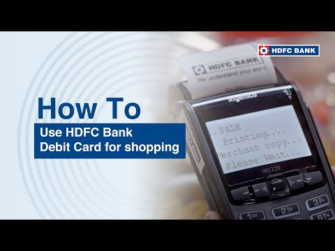 How to use your Debit Card while shopping