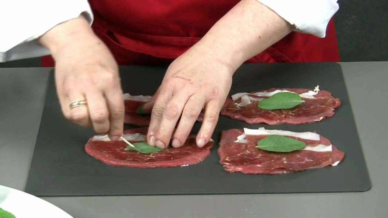 Saltimbocca alla romana youtube for Cucina tipica romana ricette