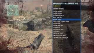 [MW3/PS3] AIMBOT Project Memories v3 MOD MENU By Enstone French Modding Team